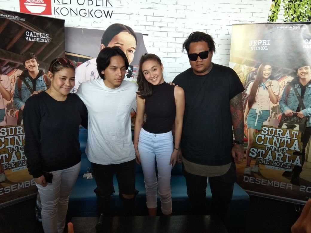 Pemeran Film Surat Cinta Untuk Starla Gelar Jumpa Fans Di Makassar Input Rakyat